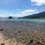 日本のハワイまでは船で5分!日本に・・・というか福井県にハワイがあった?!アクシデントありの海水浴|日本一周12日目(1/2)
