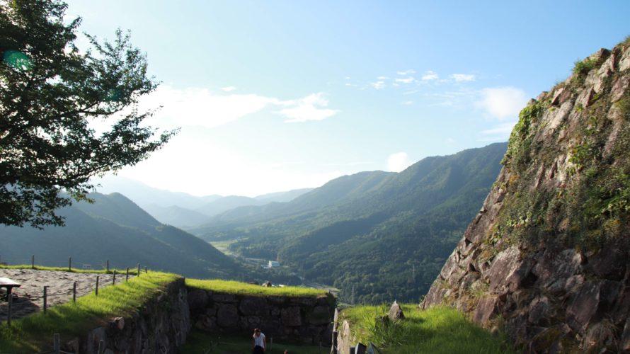 舐めすぎた。。まさかの抱っこ登山になるとは・・・兵庫県・天空の城「竹田城跡」|日本一周13日目(1/4)