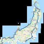 5分で把握できる!日本一周車中泊の旅「走行距離・ルートまとめ」出発〜2週間のデータ